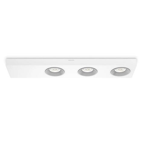 Philips 31213/31/16 - LED bodové svítidlo INSTYLE QUINE 3xLED/4,5W/230V