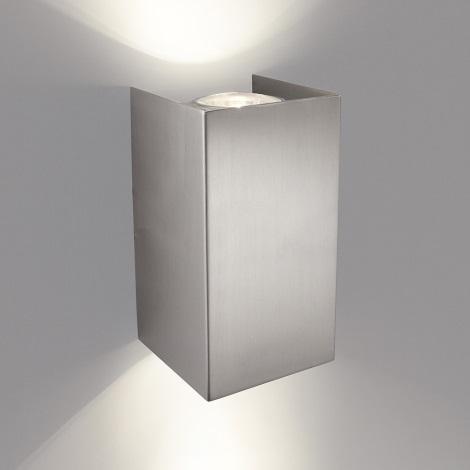 Philips 33012/17/PN - Nástěnné svítidlo GABARDINE 2xGU10/50W/230V