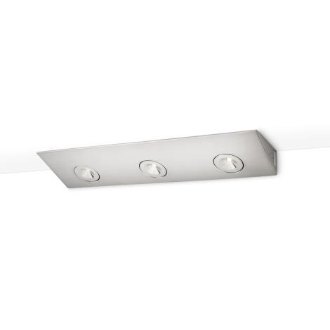 Philips 33801/17/16 - Podlinkové LED svítidlo FINESSE 3xHighPower LED/2,5W/230V