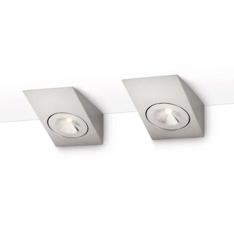 Philips 33802/17/16 - SADA 2x Podlinkové LED svítidlo MYKITCHEN DIVINE LED/2W