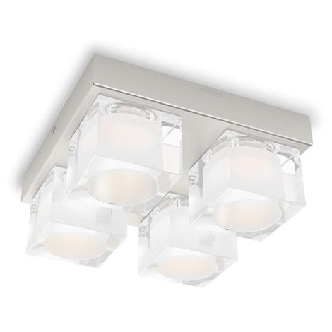 Philips 36761/17/16 - LED stropní svítidlo MYLIVING TIBRIS 4xLED/4,5W/230V