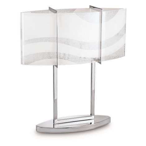 Philips 37504/11/16 - Stmívatelná stolní lampa INSTYLE ONDAS 2xE27/75W/230V chrom