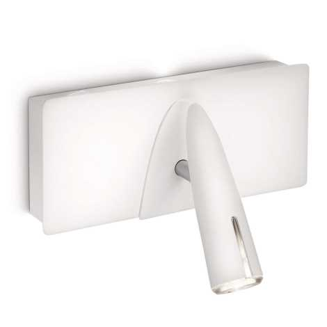 Philips 37912/31/16 - LED Bodové svítidlo INSTYLE BENSON 1xLED/5W + 1xLED/2,5W bílá