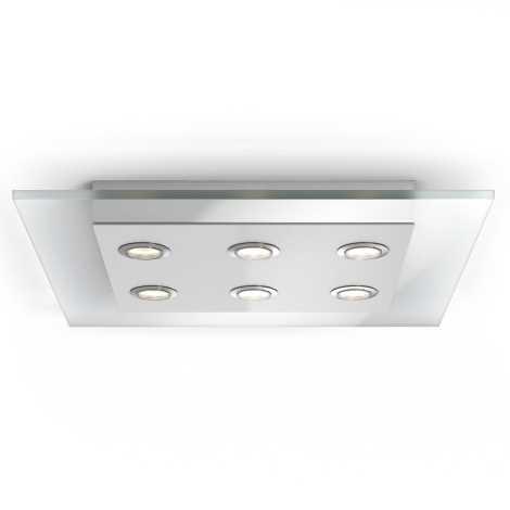 Philips 40927/60/16 - LED stropní svítidlo INSTYLE MATRIX 6xLED/4,5W/230V