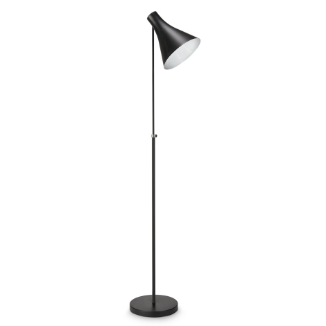 Philips 42261/30/16 - Stojací lampa DRIN černá 1xE27/23W/230V