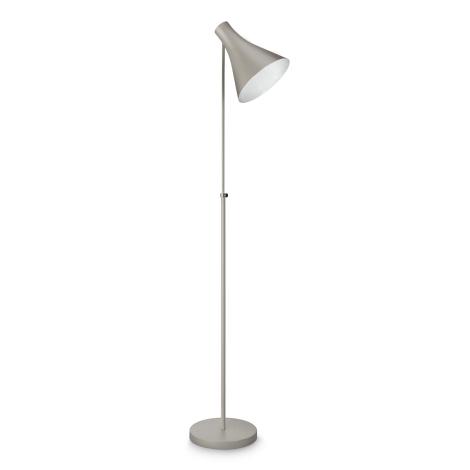 Philips 42261/87/16 - Stojací lampa DRIN šedá 1xE27/23W/230V
