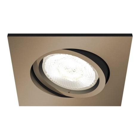 Philips 50391/05/P0 - LED Stmívatelné koupelnové podhledové svítidlo SHELLBARK LED/4,5W/230V