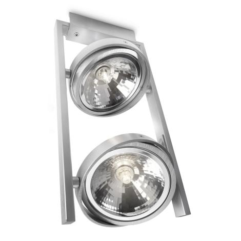 Philips 53062/48/16 - Bodové svítidlo MYLIVING FAST 2xG9/42W/230V