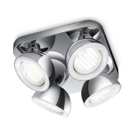 Philips 53124/11/16 - Bodové svítidlo MYLIVING GLANCE 4xGX53/9W/230V