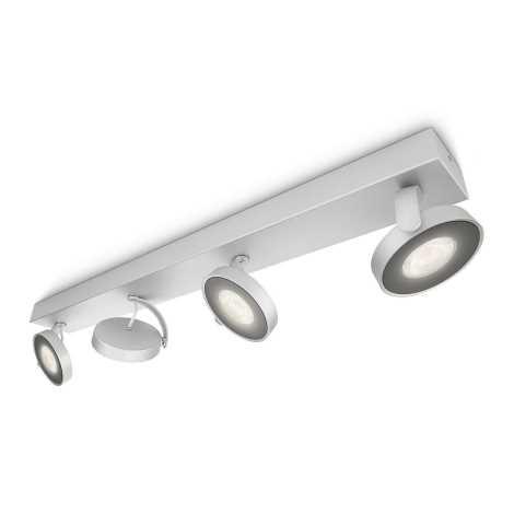 Philips 53174/48/16 - LED bodové svítidlo MYLIVING CLOCKWORK 4xLED/4W/230V