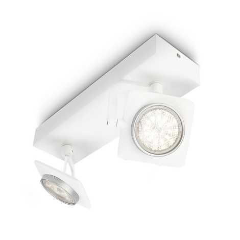 Philips 53192/31/16 - LED bodové svítidlo MILLENNIUM 2xLED/4W/230V