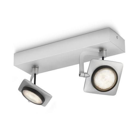 Philips 53192/48/16 - LED bodové svítidlo MILLENNIUM 2xLED/4W/230V