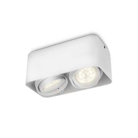 Philips 53202/31/16 - LED bodové svítidlo AFZELIA 2xLED/3W/230V