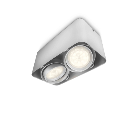 Philips 53202/48/16 - LED bodové svítidlo AFZELIA 2xLED/3W/230V