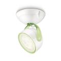 Philips 53230/33/16 - LED Bodové svítidlo MYLIVING DYNA 1xLED/3W/230V zelená