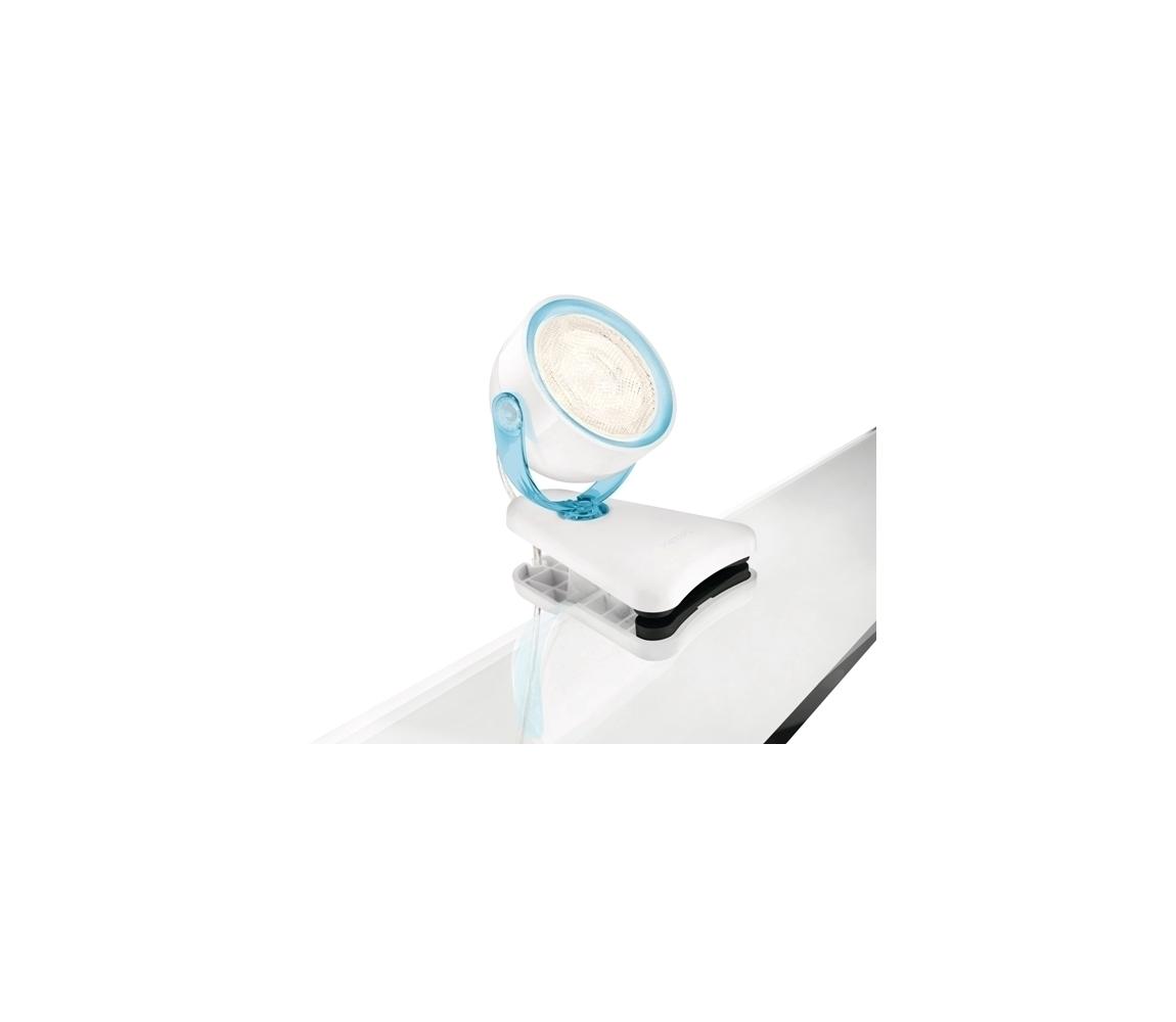 Philips Philips 53231/35/16 - LED Klip MYLIVING DYNA 1xLED/3W/230V modrá M3088