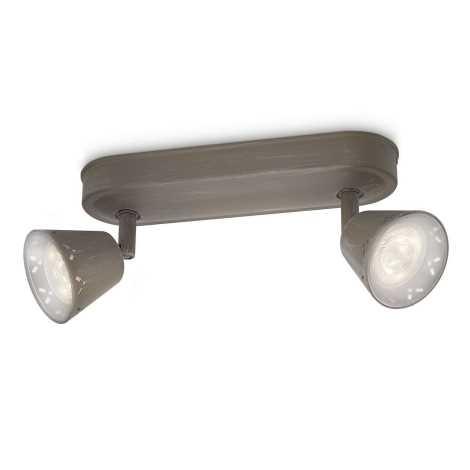 Philips 53252/26/16 - LED bodové svítidlo MYLIVING IDYLLIC 2xLED SMD/4W/230V