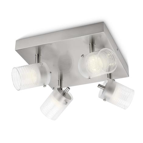 Philips 53269/67/16 - LED bodové svítidlo TOILE 4xLED/3W/230V