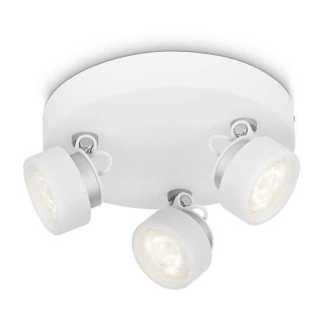Philips 53279/31/16 - LED bodové svítidlo RIMUS 3xLED/3W/230V