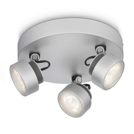 Philips 53279/48/16 - LED bodové svítidlo RIMUS 3xLED/3W/230V