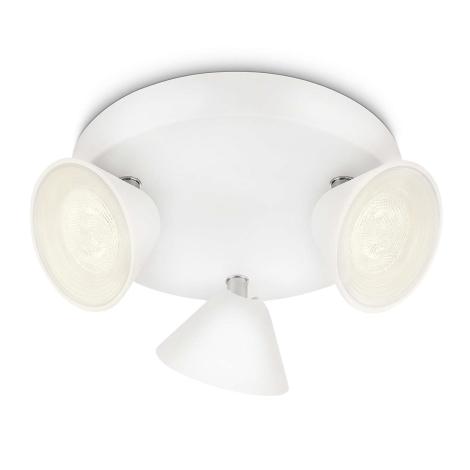 Philips 53289/31/16 - LED bodové svítidlo TWEED 3xLED/3W/230V