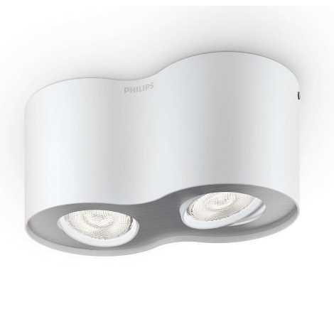Philips 53302/31/16 - LED bodové svítidlo PHASE 2xLED/4,5W/230V
