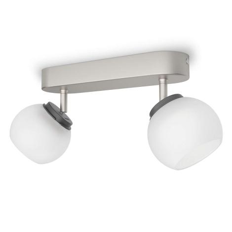 Philips 53322/17/16 - LED bodové svítidlo BALLA 2xLED/4W/230V