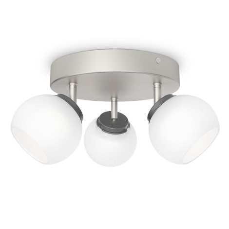 Philips 53323/17/16 - LED bodové svítidlo BALLA 3xLED/4W/230V
