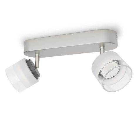 Philips 53332/17/16 - LED bodové svítidlo FREMONT 2xLED/4W/230V