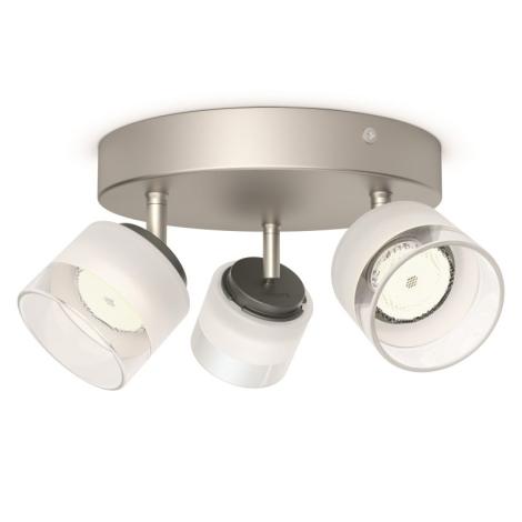 Philips 53333/17/16 - LED bodové svítidlo FREMONT 3xLED/4W/230V