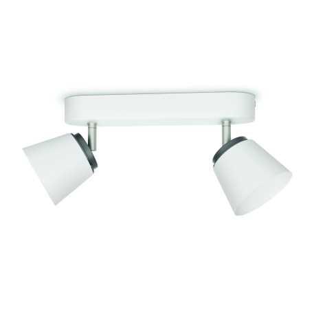 Philips 53342/31/16 - LED bodové svítidlo DENDER 2xLED/4W/230V