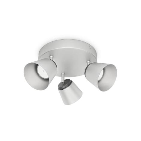 Philips 53343/17/16 - LED bodové svítidlo DENDER 3xLED/4W/230V