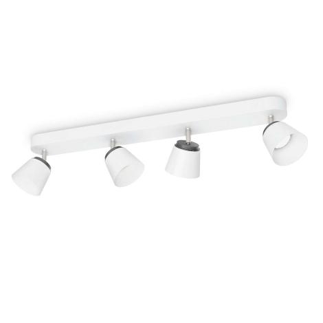 Philips 53344/31/16 - LED bodové svítidlo DENDER 4xLED/4W/230V