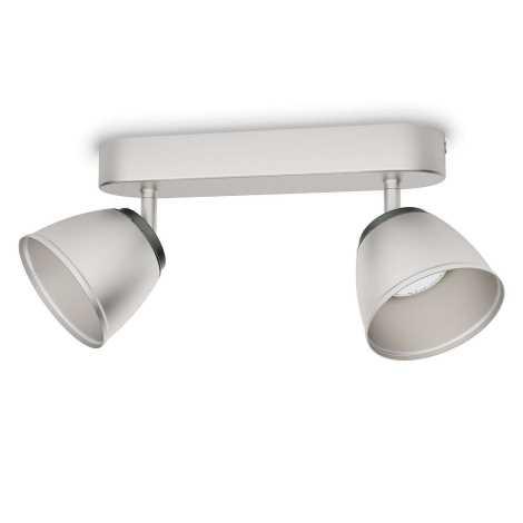 Philips 53352/17/16 - LED bodové svítidlo COUNTY 2xLED/4W/230V