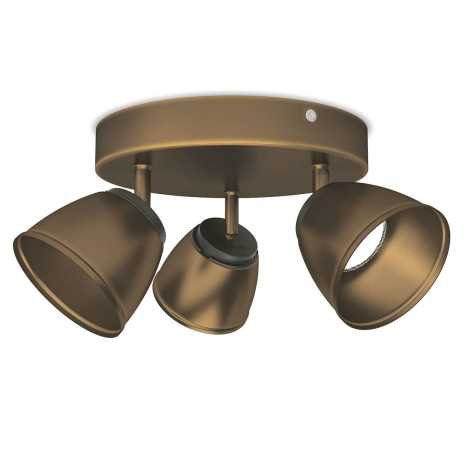 Philips 53353/06/16 - LED bodové svítidlo COUNTY 3xLED/4W/230V