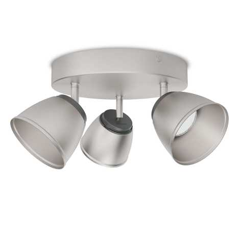 Philips 53353/17/16 - LED bodové svítidlo COUNTY 3xLED/4W/230V