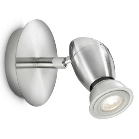 Philips 55690/17/PN - Nástěnné bodové svítidlo CHESTNUT 1xGU10/50W/230V