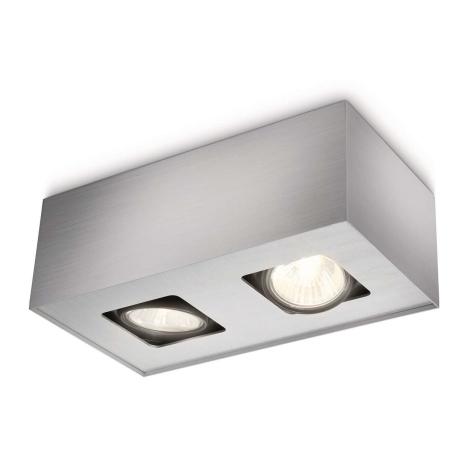 Philips 56232/48/16 - Bodové svítidlo TEMPO 2xGU10/35W/230V