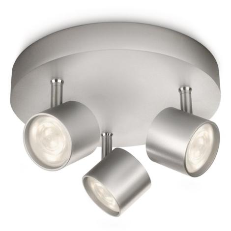 Philips 56243/48/16 - LED bodové svítidlo MYLIVING STAR 3xLED/4W/230V
