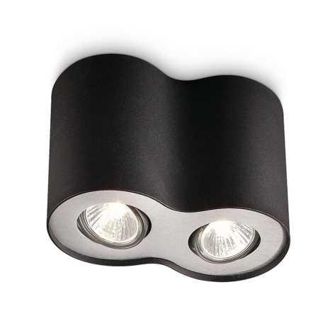 Philips 56332/30/16 - Bodové svítidlo MYLIVING PILLAR 2xGU10/50W/230V