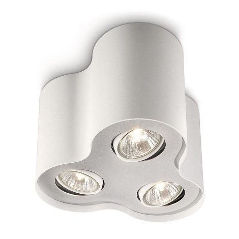 Philips 56333/31/16 - Bodové svítidlo MYLIVING PILLAR 3xGU10/35W/230V bílá