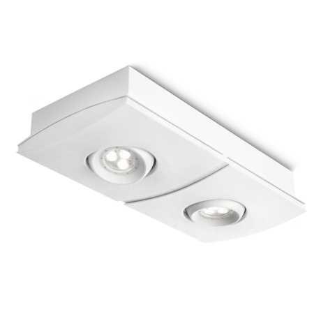 Philips 56402/31/13 - LED Stmívatelné bodové svítidlo INSTYLE ELGAR 2xLED/7,5W