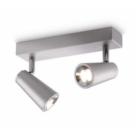Philips 56462/48/16 - LED bodové svítidlo DELTYS 2xLED/5W/230V