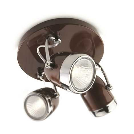 Philips 56483/43/16 - Bodové svítidlo MYLIVING BALSA 3xGU10/35W/230V