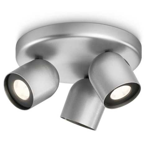 Philips 56493/48/16 - Bodové LED svítidlo MYLIVING ZESTA 3xLED/6W/230V