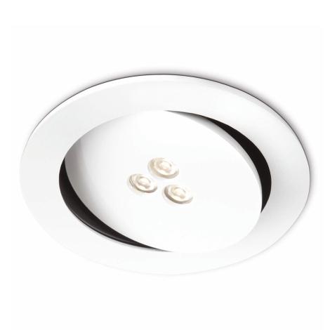 Philips 57962/31/16 - LED koupelnové podhledové svítidlo SCULPTOR 1xLED/6W/230V