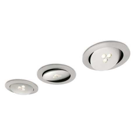 Philips 57963/48/16 - SADA 3x LED koupelnové podhledové svítidlo MYLIVING SCULPTOR 1xLED/7,5W/230V