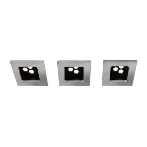 Philips 57972/17/16 - SADA 3xLED koupelnové svítidlo STARDUST 3xLED/7,5W