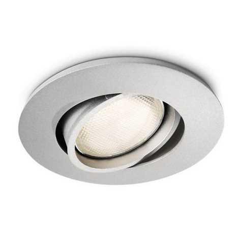 Philips 57977/48/16 - Koupelnové podhledové svítidlo MYLIVING SEGIN 1xGU10/10W