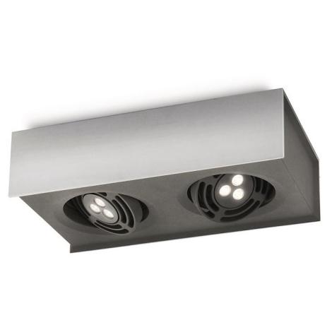 Philips 57985/48/16 - LED Bodové svítidlo INSTYLE RADAR 2xLED/7,5W/230V